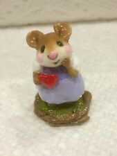 WEE FOREST FOLK SWEETHEART GIRL LAVENDER/PURPLE MINT WITH BOX
