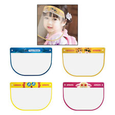 4x Kids Full Face Shield Nursery Guard Face Cover Visor Cap No Fog Dustproof