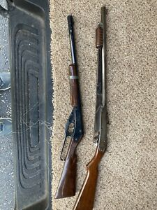 Two vintage BB guns - #25 & Lever action