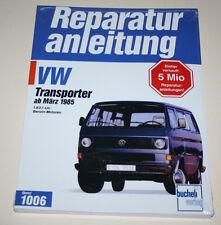 Reparaturanleitung VW Bus Transporter Caravelle T3 Wasserboxer 1,9 / 2,1 ab 1985