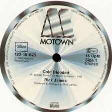 RICK JAMES - Cold Blooded - 1983 Motown Ger - 120-15-028