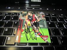 ESSENDON BOMBERS - JOBE WATSON SIGNED AFL 2007 SELECT CARD