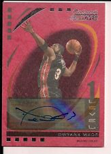 Rare Dwayne Wade Auto 2006-07 Topps Trademark Moves Level 1 only 3 made 2/3