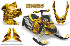 SKI-DOO REV XP SNOWMOBILE SLED GRAPHICS KIT WRAP CREATORX DECALS INFERNO Y
