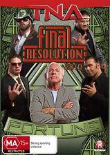 TNA Wrestling Final Resolution (2010) NEW/SEALED Full Metal Mayhem [Region 4]