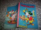 TOPOLINO LIBRETTO N. 167 ORIGINALE MONDADORI DISNEY 1957 OTTIMO CON BOLLINO