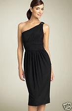 Maggy London One Shoulder Dress  ( size 10)