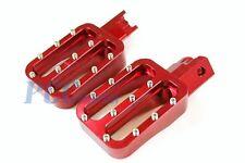 CNC RACING FOOTPEGS FOOT PEGS PIT BIKE XR50 CRF50 SDG SSR 107 110 125 H FP10R