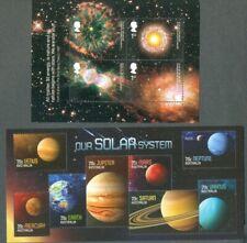 Space-Solar System-Great Britain(mnh)+ Australia(fu/cto) min sheets(2)
