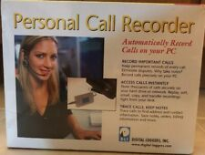 Digital Loggers Personal Call Recorder with Software