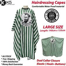Hair Cutting Hairdressing Waterproof Barber Apron Hair Capes Cape Cloth Gown