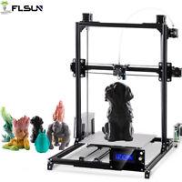 Flsun Reprap Prusa I3 3D Printer Large Printing Size 300*300*420mm Auto-leveling