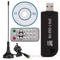 Digital USB 2.0 DVB-T SDR+DAB+FM HDTV TV Tuner Receiver Stick HE RTL2832U+FC0012