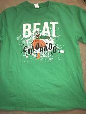 Men's Oregon Ducks Football Shirt Beat Colorado Large L