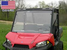 Hard Windshield for Polaris Ranger 570 Mid Size - Commercial - Polycarbonate