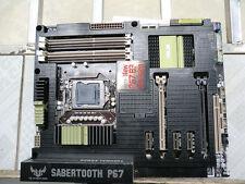 ASUS SABERTOOTH P67 LGA 1155 Intel P67 (B3) ATX Motherboard