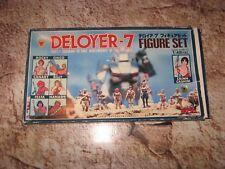 Vintage Model Kit Dougram figure set Deloyer -7 Robotech Takara Macross 1/48