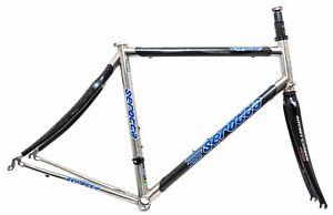 Serotta Fierte Ti Carbon 700c Road Bike Frameset 56cm Black Ritchey Pro Titanium