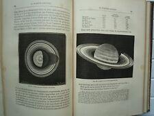 ASTRONOMIE POPULAIRE DE CAMILLE FLAMMARION CHEZ MARPON 360 ILLUSTRATIONS 1882