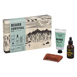 GENTLEMAN'S HARDWARE | New Beard Survival Kit