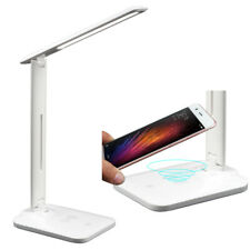 Desk lamp with wireless charger and USB port