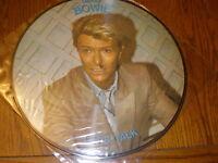 David Bowie PICTURE DISC Let's Talk