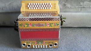 Steirische Harmonika Hohner Alpenecho G C F