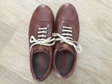 CAMPER-marrone pelle PELOTAS formatori / scarpe-Taglia 40 - 100% ORIGINALE