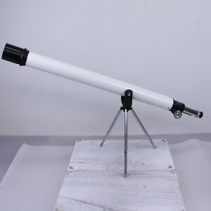 VINTAGE TASCO 4VTE REFRACTOR TELESCOPE 50x40mm VARIABLE ASTEROID RETRO