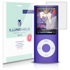iLLumiShield Matte Screen Protector w Anti-Glare/Print 3x for Apple iPod nano 4