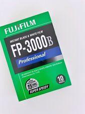 "FujiFilm 2602643 Fp-3000B 3.34 x 4.25"" Professional Instant Black and White Film"