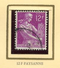 STAMP / TIMBRE FRANCE OBLITERE N° 1116 TYPE MOISSONNEUSE