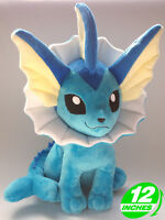 Pokemon Inspired Plush Doll - Vaporeon 30cm Eeveelutions