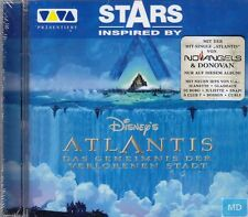 Stars Inspired by Disney's Atlantis + CD + SUPERBE ALBUM avec 20 forte chansons +