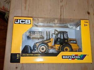 Britains JCB TM 310S Loader 1.32 scale in excellent condition