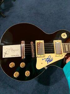 Black Sabbath Authentic Signed Electric Guitar Beckett LOA JSA Ozzy + Tony Iommo