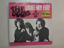 "DOORS: Light My Fire-The Crystal Ship-Germany 7"" 1967 Hit-ton Schallplatten PSL"