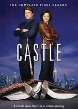 Castle: The Complete First Season [3 Discs] DVD Region 1 WS