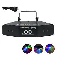 6 Lens RGB Laser Light Line Beam Scans DMX DJ Dance Disco Party Stage Bar KTV