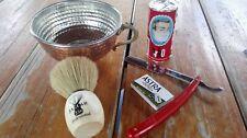 Super Shaving Set  ARKO Soap Stick for Brush 5 Astra Blade , Brush , Razor