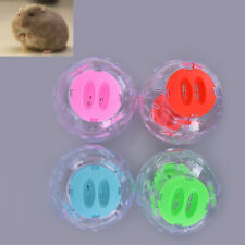 New listing Pet Running Ball Plastic Grounder Jogging Hamster Pet Small Exercise Toy 12Cmte