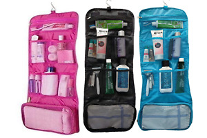 Large Hanging Toiletry Bag Cosmetic Makeup Wash Storage Travel Organizer Pouch