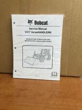 Bobcat V417 Telehandler Service Manual Shop Repair Book 2 Part Number # 6987144