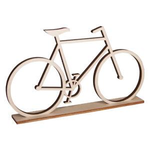 Holz-Fahrrad, zum Stellen, 20x11cm, Deko für Gutschein und vieles mehr.