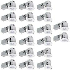 Globe Electric 4 in. White Dimmable Recessed Lighting Kit (20-Pack)