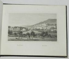 ***** RARE : SOUVENIR DE BADE BADE (BADEN-BADEN) - GRAVURES ROMANTIQUES - 1840