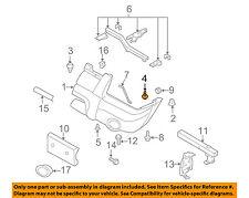 NISSAN OEM Front Bumper-Bumper Cover Screw 085666205A