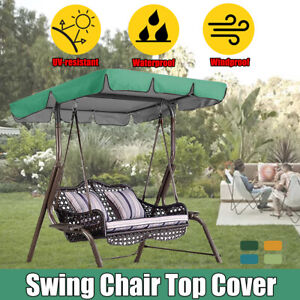 195*125*15cm Replacement Canopy For Swing Seat 3 Seater Garden Hammock Cover