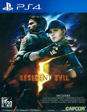 New Sony PS4 Games Biohazard 5 Resident Evil 5 HK Version English Subtitle