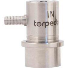 Stainless Steel Ball Lock Gas In Keg Coupler Barbed Connectors Beer Wine Corny